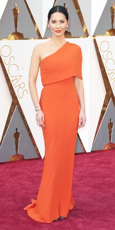 2016 Oscars Red Carpet Photos - Olivia Munn   - from InStyle.com