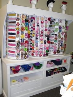 Hair Bow Storage