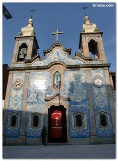 Carvalhido Church, leaving Porto