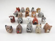 Made to Order Any animal pocket totem by HandyMaiden on Etsy, $52.00
