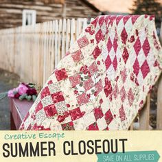 Summer closeout