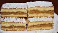 Pavlova, Czech Recipes, Ethnic Recipes, New Cake, Apple Pie, Vanilla Cake, Tiramisu, Ham, Nom Nom