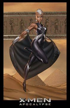 X-Men Apocalypse Storm by Jamie Tyndall