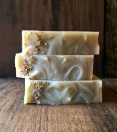 Frankincense & Cedar handmade Soap Cold by BubbleandFlameNH