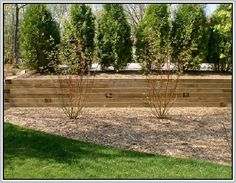 How to Build a Timber Retaining Wall To build a timber supporting
