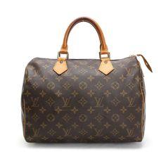 Louis Vuitton Speedy 30 Monogram Small bags Brown Canvas M41526
