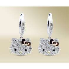 40 Best Hello Kitty Earring Images Hello Kitty Jewelry Diamond