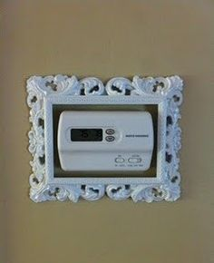 Dress up an ugly thermostat.