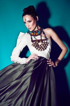 Dress: Adriana Carolina - Im still in LOve with this MATTE MAG Fashion Editorial Hello Abudabi By Christian Ramirez Tejada
