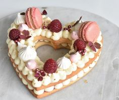 Happy Valentines Day Cake by Sweet St.Marys Road in St. Baking Recipes, Cake Recipes, Dessert Recipes, Sweet Desserts, Sweet Recipes, Valentines Day Cakes, Number Cakes, Cake & Co, Creative Cakes