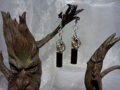 Blood Vial Earrings