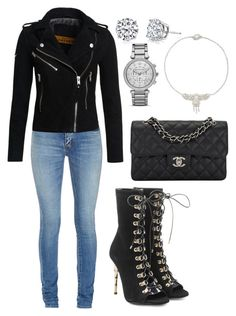 """Untitled #1580"" by cecilia-rebecca-stagrum-buch on Polyvore featuring Blue Nile, Balmain, Yves Saint Laurent, Superdry, Chanel, Harry Kotlar and MICHAEL Michael Kors"