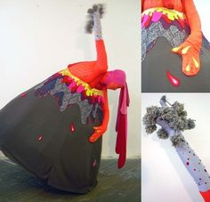 Costume inspiration. Now Tommy wants a volcano costume. I think it will be easier than the solar system request.