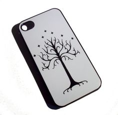 LOTR inspired White Tree of Gondor iPhone 4 / 4S by GelertDesign, £8.00