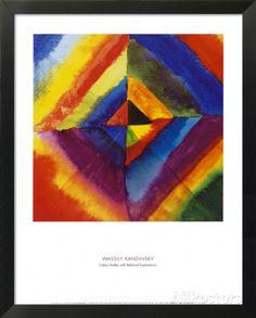 """Résultat de recherche d'images pour """"oeuvre etude de couleurs vassily kandinsky"""""""