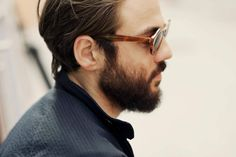 Hair beard sunglasses tumblr Style