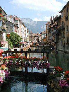 Annecy in Summer
