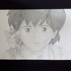 #arte #dibujoalápiz #dibujo #anime #HoshioOuKodomo