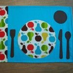 "Use a ""montessori"" placemat. This one is from lilofan's store on Etsy. We love it!"
