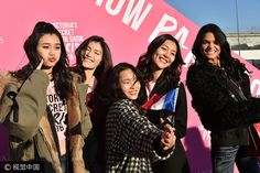 Victoria Secret's Shanghai show includes six Chinese models