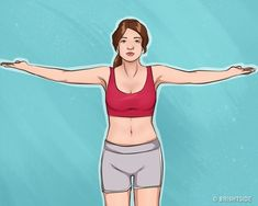 10 Easy Exercises For Beautiful Arms and Tight Breasts.The French television presenter and author of the bestseller, Camille Volaire,developed a set of exercises for beautiful breasts, Easy Workouts, At Home Workouts, Breast Muscle, Tv Star, Daily Exercise Routines, Workout Bauch, Fit Girl Motivation, Back Muscles, No Equipment Workout