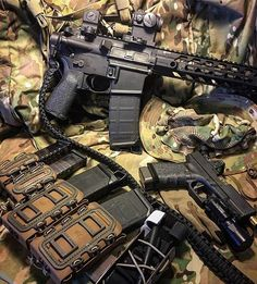 Repost @narc1911 ・・・ @bravocompanyusa 12.5 inch ar15 pistol. @lawtactical…