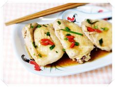 Steamed Chinese Wine Chicken with Wolfberries