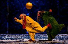 Slava Polunin / Snow Show / Tel Aviv  by Vladimir Popov / Uhaiun