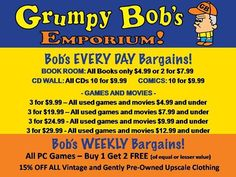 Grumpy Bob's Emporium 2915 N Center St, Maryville, IL https://www.facebook.com/pages/Grumpy-Bobs-Emporium/
