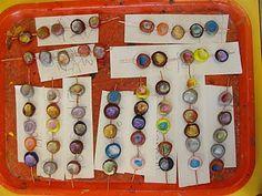fingerprint clay beads