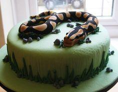 Snake Birthday Cake - @Tami Arnold Arnold Jefferson, or this one