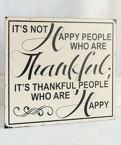 Look what I found on #zulily! Wood 'Happy People' Block Sign by Adams & Co. #zulilyfinds