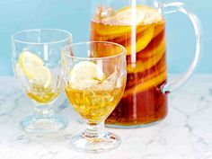 Hedelmäinen jäätee - Reseptit