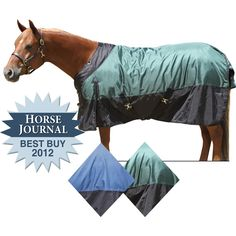 We love our StormShield® 1680D EURO EXTREME Turnouts. This blanket was chosen by the Horse Journal as 2012 Best Buy! Its contour collar offers a snugger fit at the neck and above the shoulders. It's tough 1680 denier poly-nylon outer cover is constructed to last. Features include: fleece at withers, contour collar, no back seam, tail cover, criss cross surcingles, detachable elastic leg straps, extended gussets and snap front with Velco closure assist. Two year guarantee! Neck cover…