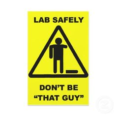 Lab humor                                                                                                                                                     More
