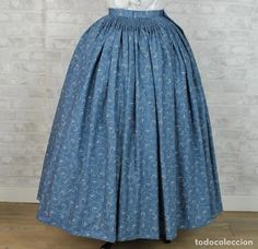Antigüedades: FALDA DE PERCAL INDUMENTARIA TRADICIONAL - Foto 1 - 192919146 Tulle, Skirts, Fashion, Photos, Moda, Fashion Styles, Tutu, Fashion Illustrations, Fashion Models