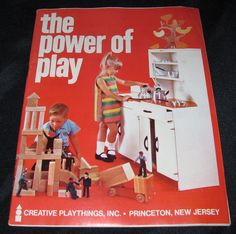 Vintage Creative Playthings Inc Princeton New Jersey 1967 Childrens Toy Catalog | eBay