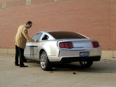 OG | 2009 Ford Mustang Mk5 | Full-size clay model