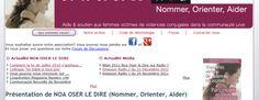 Le site : noaoserledire.fr
