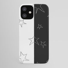 Stars - Black and White iPhone Case Iphone Skins, Iphone 8 Cases, Iphone Se, Iphone 8 Plus, Case 39, White Iphone, Apple Tv, Tech, Black And White