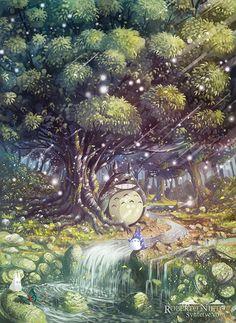 Totoro art