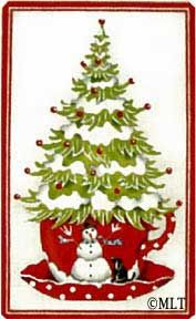 Melissa Shirley Designs   Hand Painted Needlepoint   Cup o' Cheer
