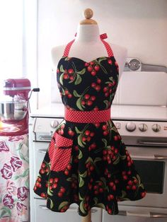 I love this apron but can't find a pattern like it to make my own