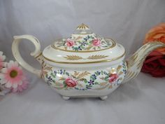 c1800 to 1825 Antique Crown Derby Hand Painted by SecondWindShop, $500.00