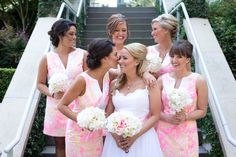 Lilly Pulitzer Bridesmaids Dresses - Nautical Charleston Wedding at the Harbour Club by Reese Moore and Fabulous Fete