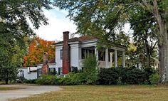 Greensboro, AL - Lee Otts Home (began as a 2-room house in 1836)