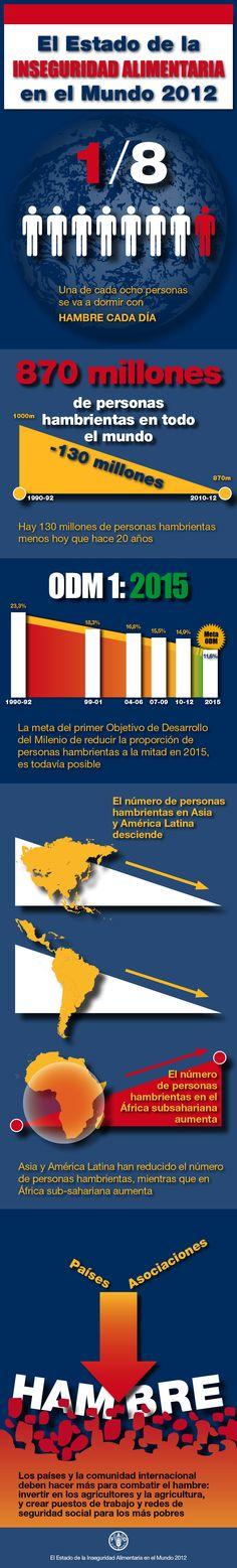El Estado de la Inseguridad Alimentaria en el Mundo 2012: El crecimiento económico es necesario pero no suficiente para acelerar la reducción del hambre y la malnutrición.