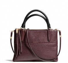 We're all about the mini Borough bag from @Coach, Inc., Inc. as the perfect holiday gift!