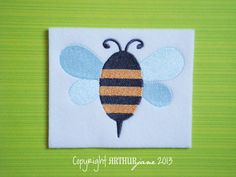 Honey Bee Bumble Bee Embroidery Design for Machine by ARTHURjane, $3.99