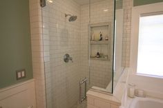 1919 Arts & Crafts Bath Remodel - traditional - Bathroom - Portland - MkM Architecture Inc